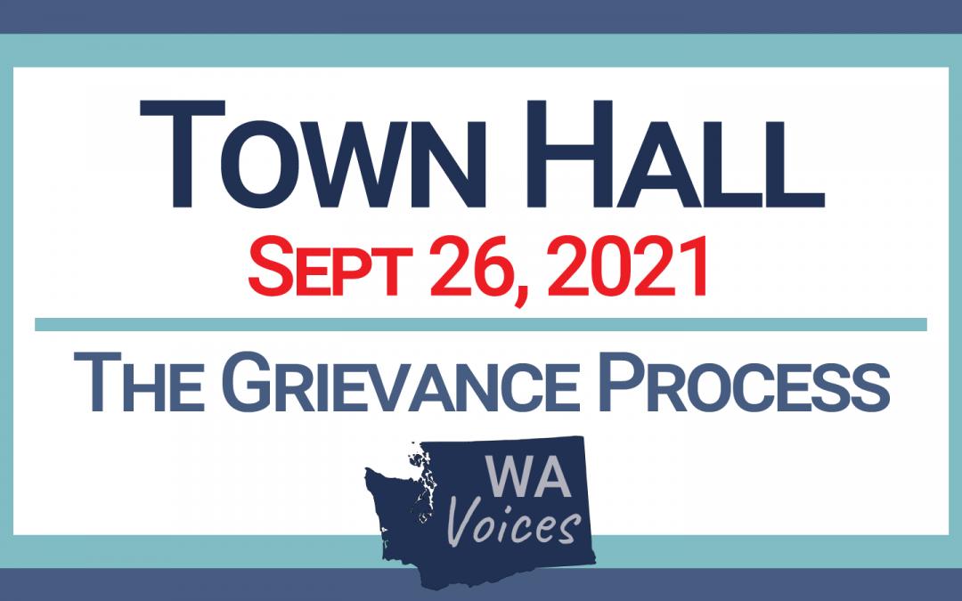 Town Hall: September 26, 2021